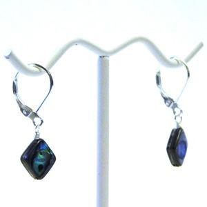 Sterling Silver & Abalone Earrings